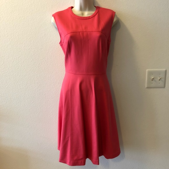 58eaf31f202 Brand new Magaschoni red coral sheath dress